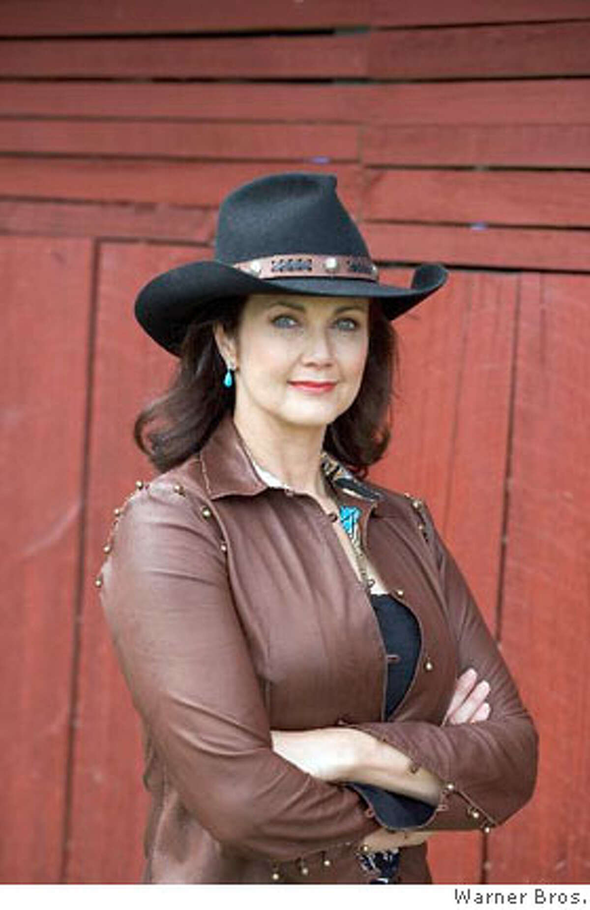 LYNDA CARTER as Pauline in Warner Bros. Pictures' and Village Roadshow Pictures' action comedy