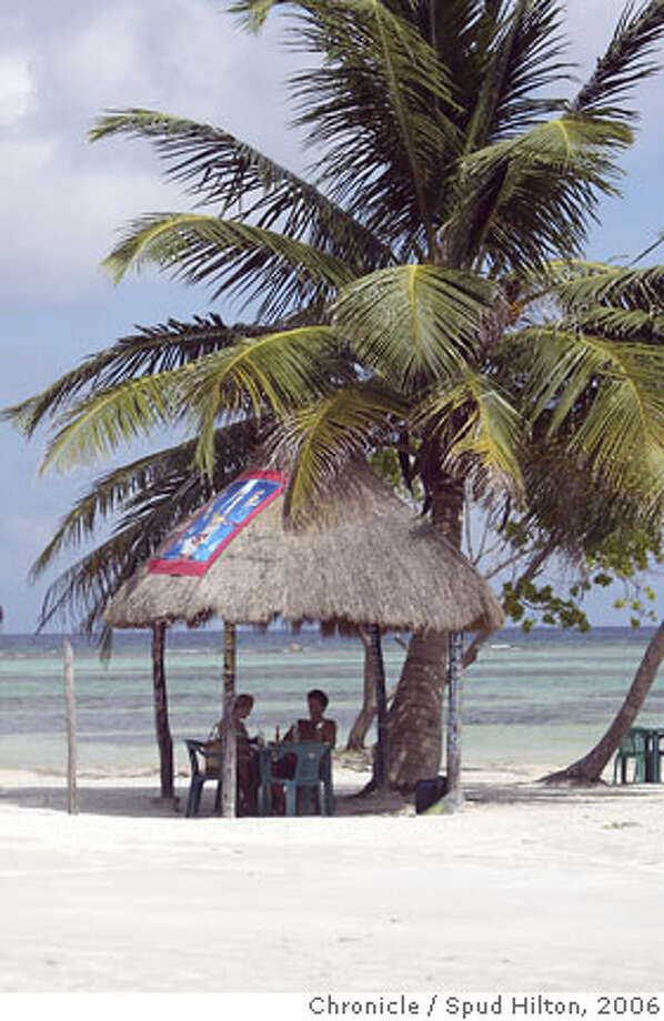TRAVEL COSTA MAYA -- Scenes from the village of Mahahual, a tiny fishing village on the southern coast of the Yucatan that is getting busier with the throngs of passengers from the nearby cruise ship pier.  Spud Hilton / The Chronicle Photo: Spud Hilton