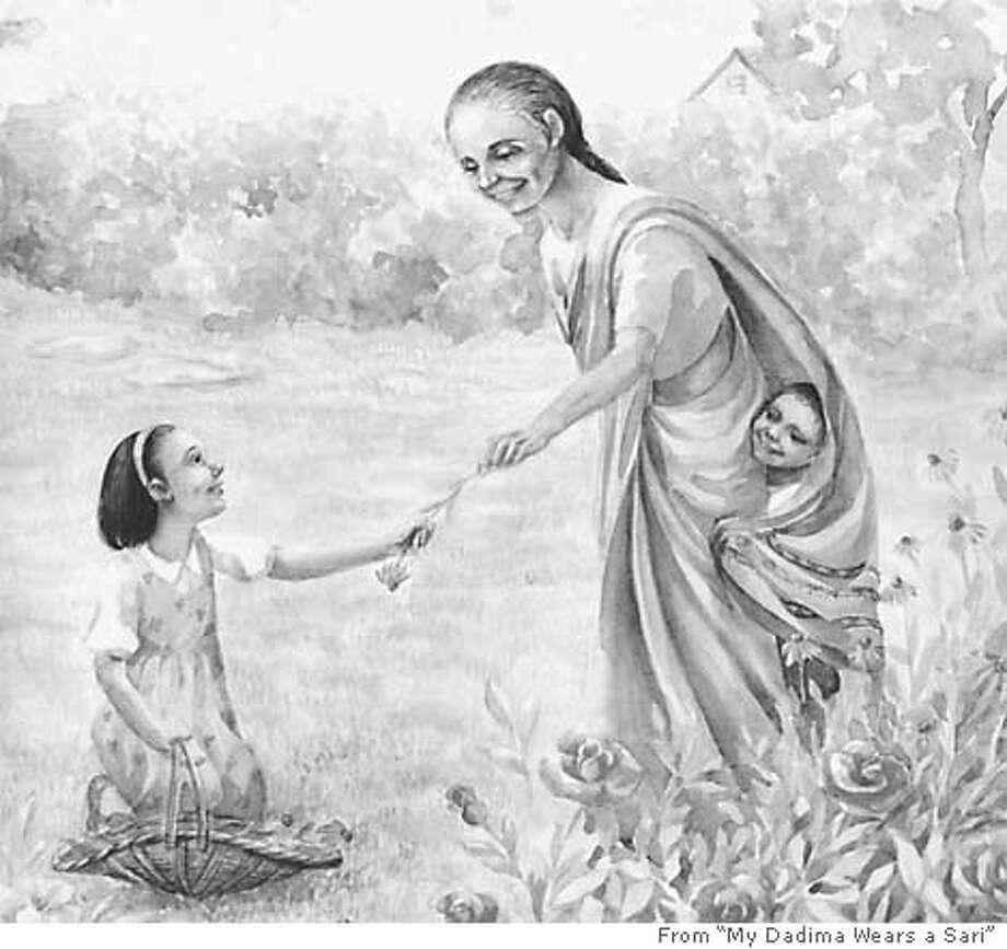 "Image from ""My Dadima Wears a Sari"""