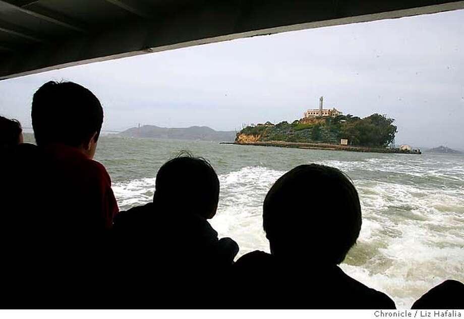 ALCATRAZ_250_LH_.JPG Alcatraz has gotten a makeover including a new boat service from Pier 33. Liz Hafalia/The Chronicle/San Francisco/4/26/07  ** cq Photo: Liz Hafalia