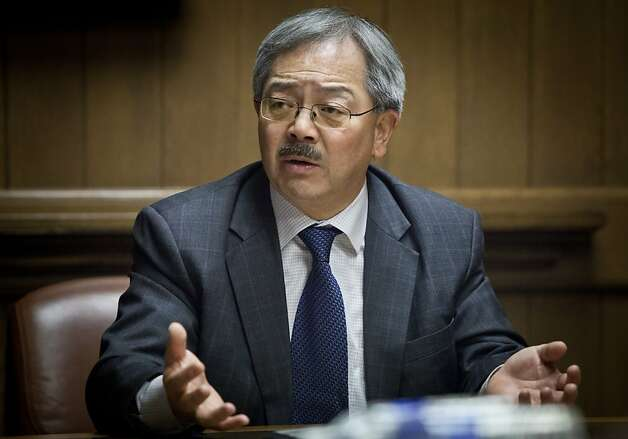 Ed Lee Photo: Russell Yip, The Chronicle