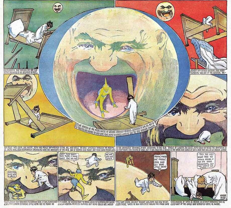 "NEMO22_03.JPG ""Little Nemo in Slumberland."" Comic strips by Winsor McCay. December 3, 1905. Sunday Press Books Photo: X"