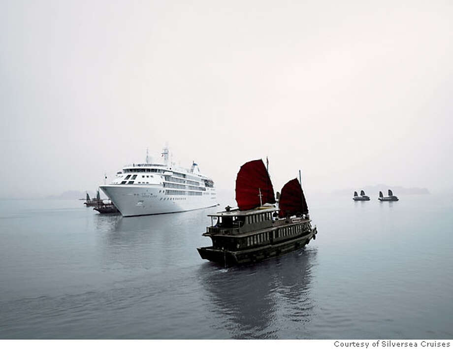 Silver Cloud Ha Long Bay Vietnam  Photo courtesy of Silversea Cruises Photo: Courtesy Of Silversea Cruises