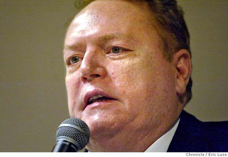 flynt_015_el.JPG Larry Flynt speaks to the Chronicle staff.  Event on 7/8/04 in San Francisco. Eric Luse / The Chronicle MANDATORY CREDIT FOR PHOTOG AND SF CHRONICLE/ -MAGS OUT Photo: Eric Luse