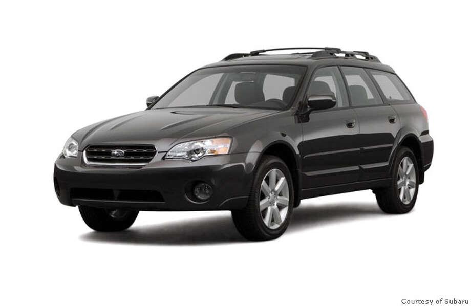 Subaru Outback. Photo courtesy of Subaru