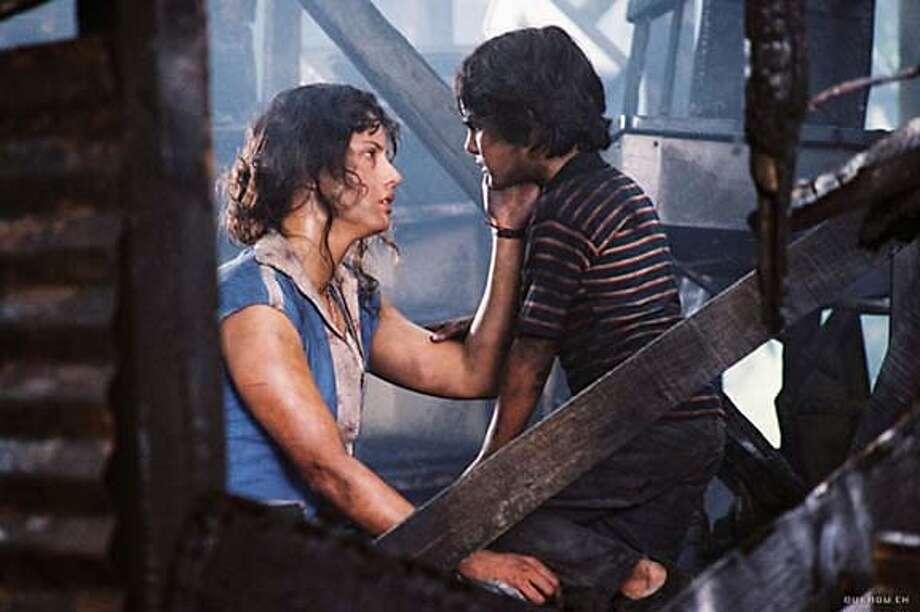 "Leonor Varela and Carlos Padilla in the movie ""Innocent Voices."" / HO"