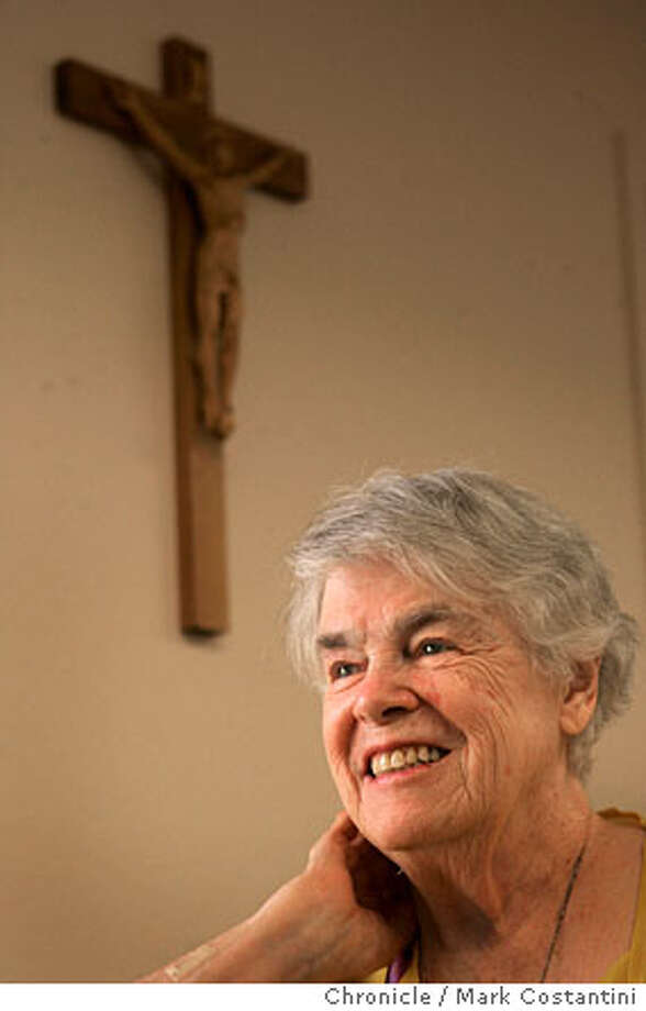 Jefferson Award winner Sister Mary Rose Christy who started working in Romanian orphanages in the 1991. She's here in the United States recovering from an illness and will go back to Romania once she recovers. Photograph by Mark Costantini/S.F. Chronicle. Photo: Mark Costantini