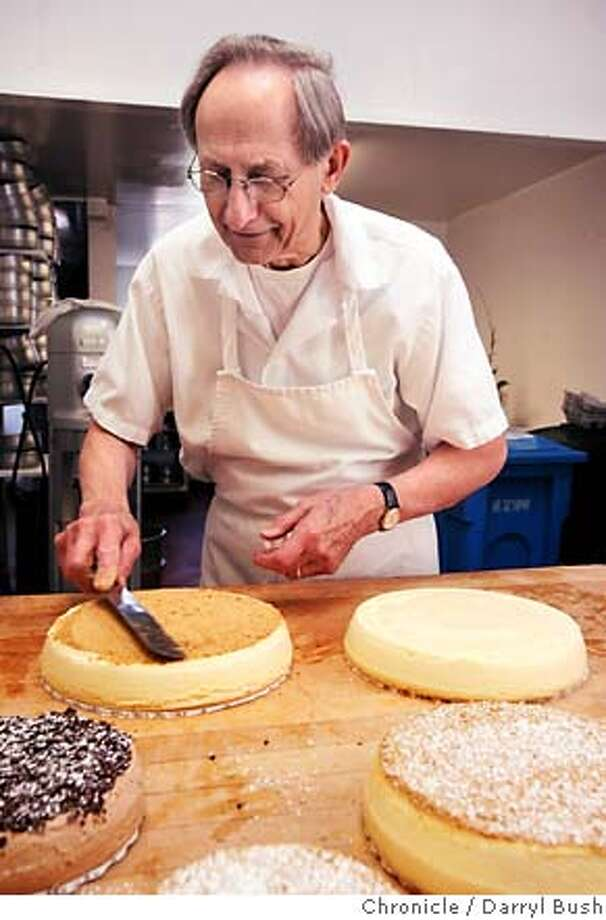.JPG  Sam Zanze makes cheesecake in his kitchen at Zanze's Cheesecake on Ocean Ave. in San Francisco, CA, on Friday, March, 30, 2007. photo taken: 3/30/07  Darryl Bush / The Chronicle ** Sam Zanze (cq) MANDATORY CREDIT FOR PHOTOG AND SF CHRONICLE/NO SALES-MAGS OUT Photo: Darryl Bush