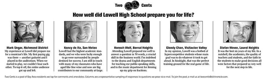 How well did Lowell High School prepare you for life?