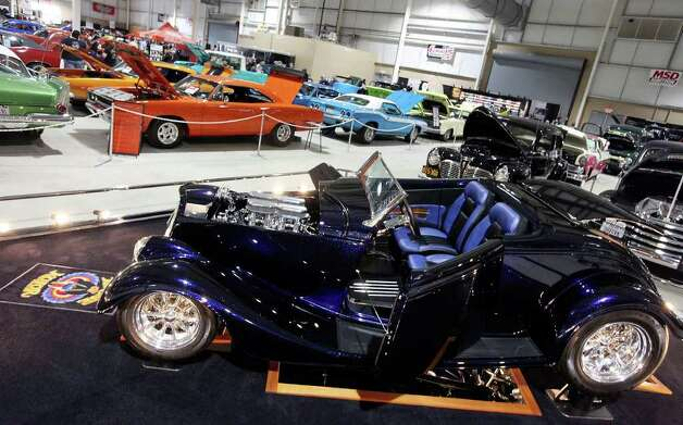 Vehicles on display at the San Antonio AutoRama & South Texas Motorcycle Show Sunday March 18, 2012 at the Freeman Coliseum. Photo: EDWARD A. ORNELAS, SAN ANTONIO EXPRESS-NEWS / © SAN ANTONIO EXPRESS-NEWS (NFS)