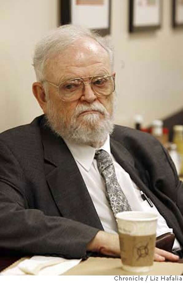 AYRES_022_LH_.JPG Dr. William Ayres, the psychiatrist from San Mateo County, has coffee before his 1:30pm courtcase. Liz Hafalia/The Chronicle/REDWOOD CITY/4/12/07  ** William Ayres cq �2007, San Francisco Chronicle/ Liz Hafalia  MANDATORY CREDIT FOR PHOTOG AND SAN FRANCISCO CHRONICLE. NO SALES- MAGS OUT. Photo: Liz Hafalia