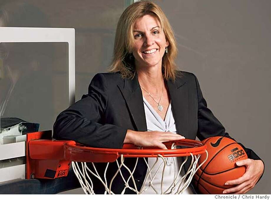 FACETIME10-02-2005_ch_005.jpg  Joanne Boyle,the new women's basketball coach at Cal. For facetime story. in Berkeley  8/16/05 Chris Hardy / San Francisco Chronicle Photo: Chris Hardy