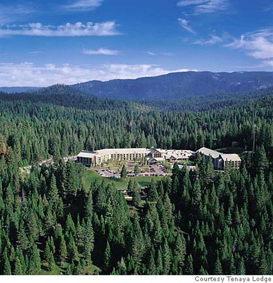TRAVEL TENAYA -- Tenaya Lodge is just outside the Yosemite National Park bondary near Wawona. Photo: John Flinn