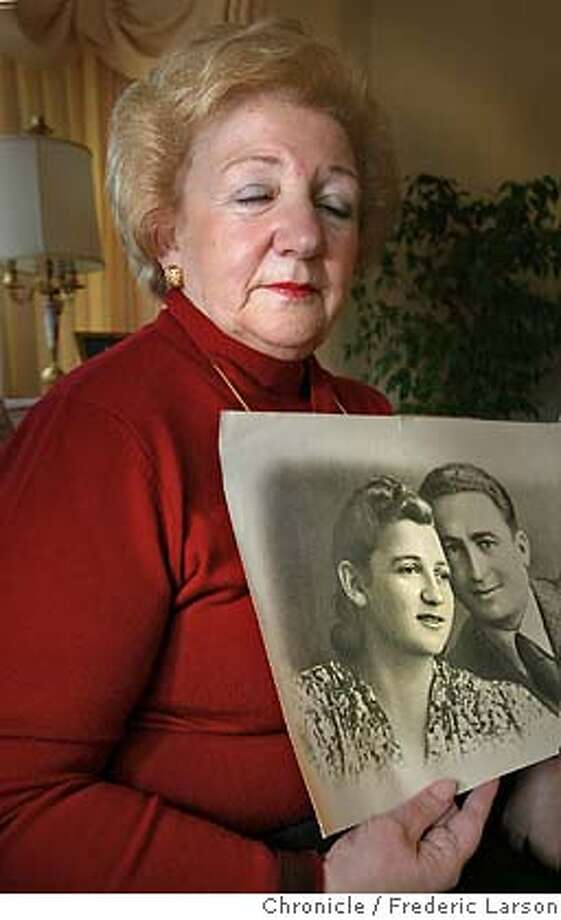 EBJEWS-C-19FEB02-EB-FRL: Sonia Orbuch of Corte Madera is one of the Jewish Partisans of 1943 who fled from ghettos in to the forests and took up arms against their Nazi oppressors. Chronicle photo by Frederic Larson Photo: FREDERIC LARSON