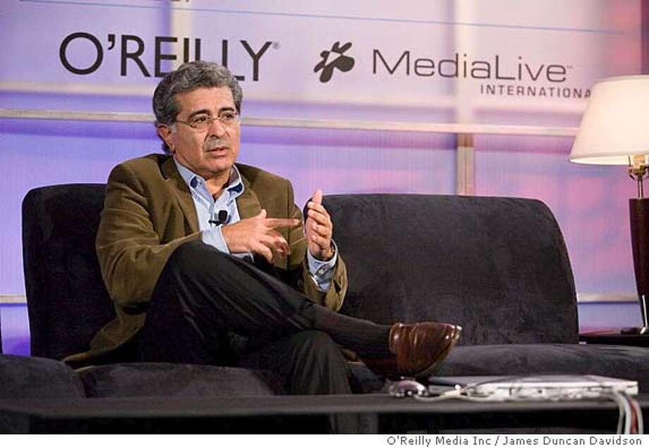 Terry Semel speaks at the 2005 Web 2.0 Conference.  James Duncan Davidson/O'Reilly Media Inc. Photo: James Duncan Davidson