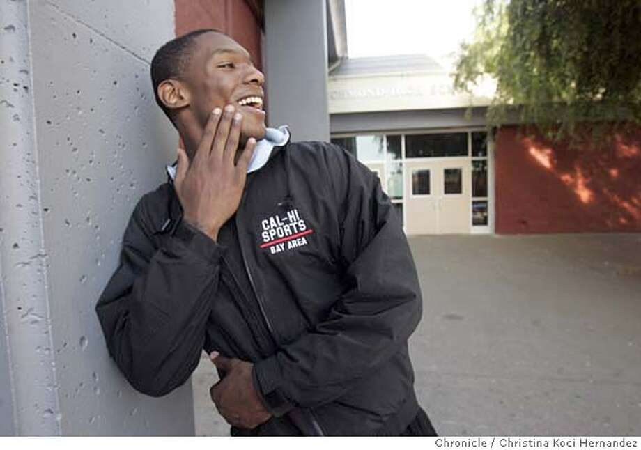 Photographed on his campus at Richmond High School, Wendell McKines, has been named Chronicle's metro-area boys basketball player of the year. (Christina Koci Hernandez/The Chronicle) Ran on: 04-08-2007  Wendell McKines had the second-highest scoring season in Bay Area history at 36 per game, to go with 15 rebounds.  Ran on: 04-08-2007  Wendell McKines had the second-highest scoring season in Bay Area history at 36 per game, to go with 15 rebounds. Photo: Christina Koci Hernandez/CHRONIC