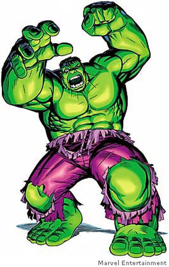 COSTUME18D-C-13FEB03-DD-HO  Marvel Comics HULK STAND  HANDOUT PHOTO/VERIFY RIGHTS AND USEAGE Photo: HANDOUT