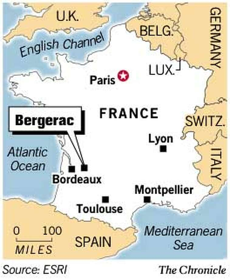 Bergerac, France. Chronicle Graphic