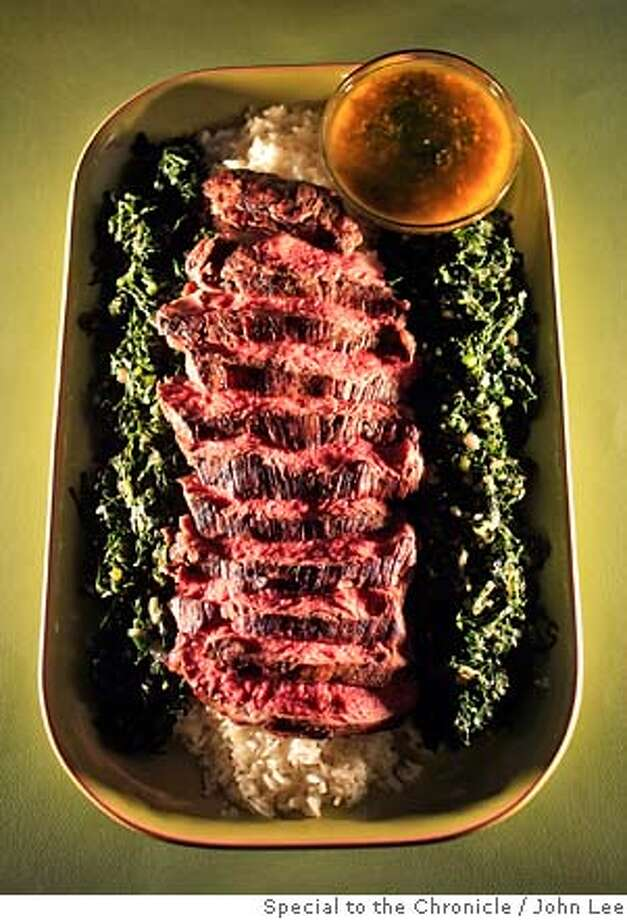 PAIRINGS30_JOHNLEE.JPG  Churrasca-style steak.  By JOHN LEE/SPECIAL TO THE CHRONICLE Photo: JOHN LEE
