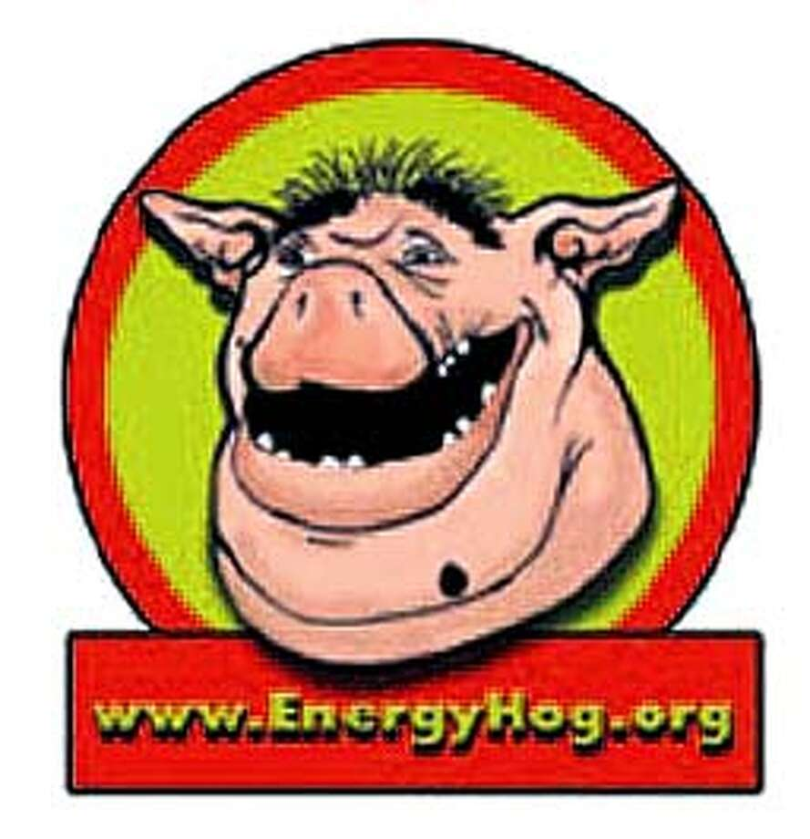 The Energy Hog will be used to promote conservation to kids.