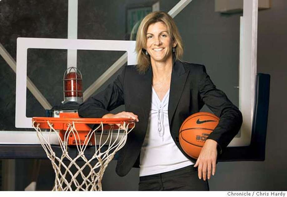 Joanne Boyle,the new women's basketball coach at Cal. For facetime story. in Berkeley  8/16/05 Chris Hardy / San Francisco Chronicle Photo: Chris Hardy