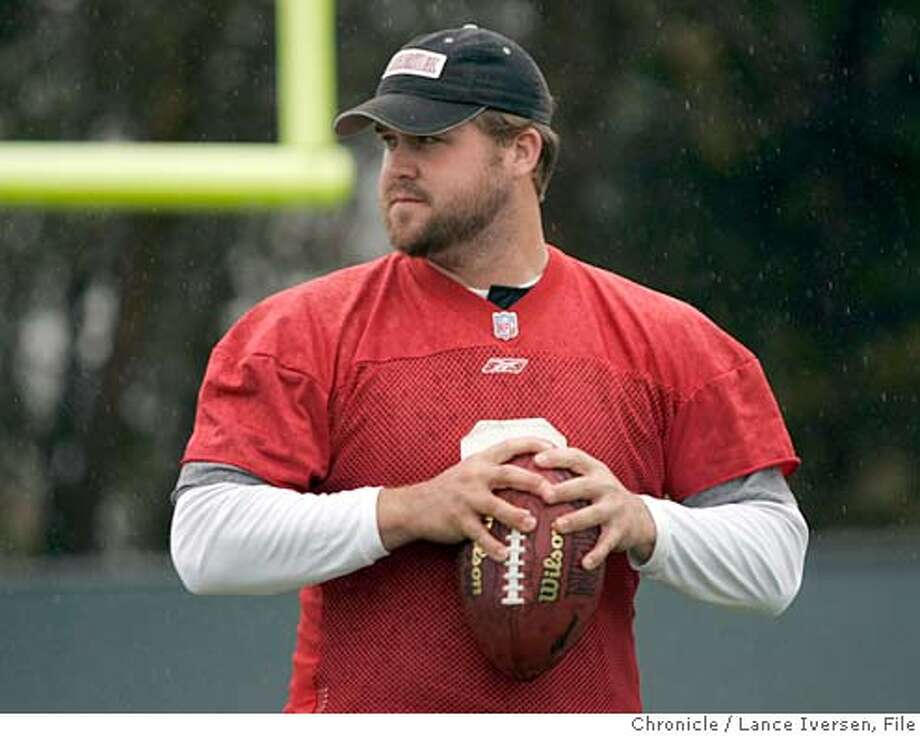 LECHLER_115.jpg_  In a poor season for NFL in the Bay Area, one bright thing is Raiders Shane Lechler is most likely heading to the pro bowl as a punter. By Lance Iversen/San Francisco Chronicle Ran on: 12-23-2004  The great white shark at Monterey Bay Aquarium Ran on: 12-23-2004  Shane Lechler Ran on: 12-23-2004  Shane Lechler Ran on: 12-23-2004  Shane Lechler MANDATORY CREDIT PHOTOG AND SAN FRANCISCO CHRONICLE. Photo: Lance Iversen