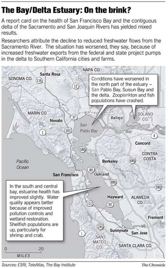 (B7) Bay/Delta Estuary On the brink