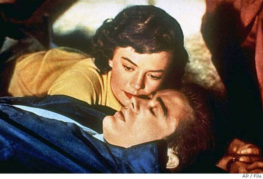 """Natalie Wood and James Dean star in the 1955 motion picture """"Rebel Without A Cause"""". (AP Photo) Natalie Wood appears with James Dean in &quo;Rebel Without a Cause&quo; (1955), playing a confused teen in a conformist society. ProductNameChronicle Ran on: 09-25-2005  Natalie Wood and James Dean in the 1955 classic &quo;Rebel Without a Cause,&quo; which will be screened Saturday as part of the Dean retrospective at the Castro Theatre. It also plays Friday at the Mechanics Institute and Saturday at Film Night in the Park -- San Rafael. Photo: Ho"""