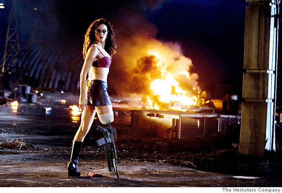 Rose McGowan in GRINDHOUSE Photo: Weinstein Co.