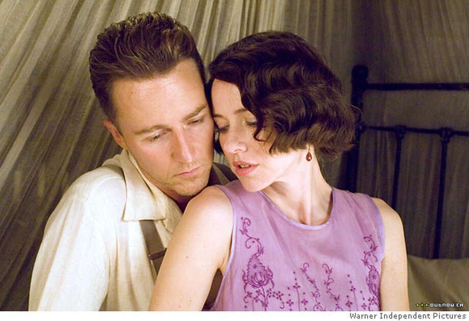 The Painted Veil. Edward Norton and Naomi Watts. 2006  Ran on: 04-01-2007  Edward Norton, Naomi Watts in &quo;Painted Veil&quo;: overlooked? Photo: Warner Independent Pictures 2006