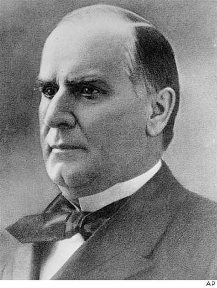 William McKinley, 25th President of the US, was assassinated September 6, 1901 at Pan American Exposition in Buffalo, NY. He died eight days later. (AP Photo) William McKinley William McKinley Ran on: 07-17-2005 [[00000000]] Photo: Ap
