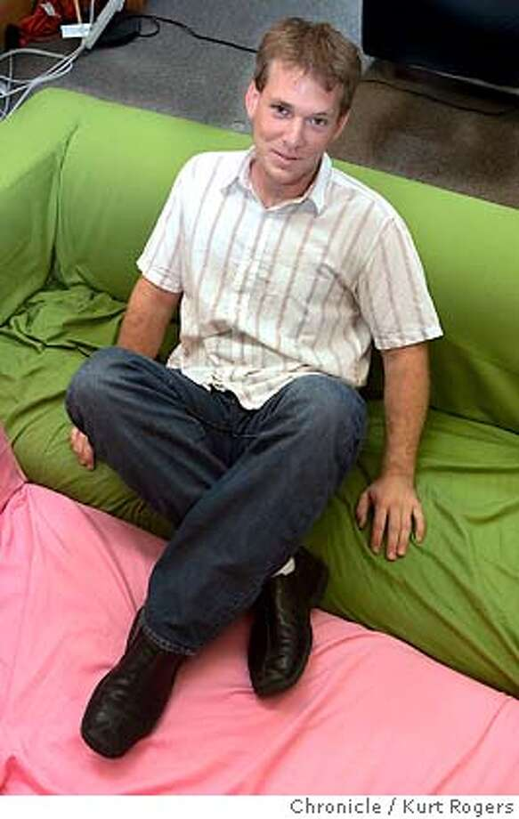 Brad Fitzpatrick the founder of Live Journal a SF based blogging community with more than 8 million members .  FITZPATRICK_0045_kr.JPG 8/16/05 in San Francisco,CA.  KURT ROGERS/THE CHRONICLE MANDATORY CREDIT FOR PHOTOG AND SF CHRONICLE/ -MAGS OUT Photo: KURT ROGERS