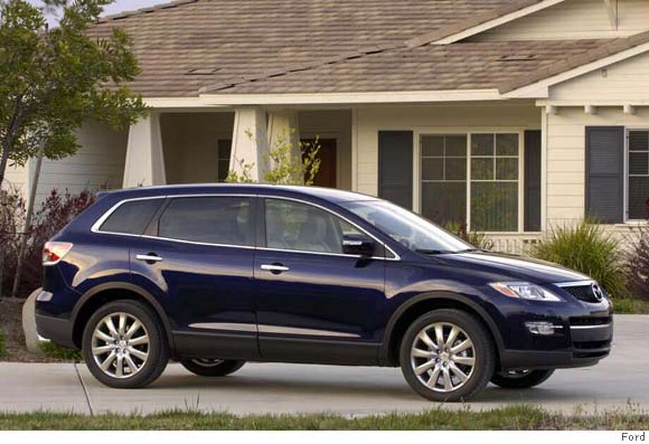 The 2007 Mazda Cx 9 Grand Touring Is A Large Crossover Utility Tall Wagon