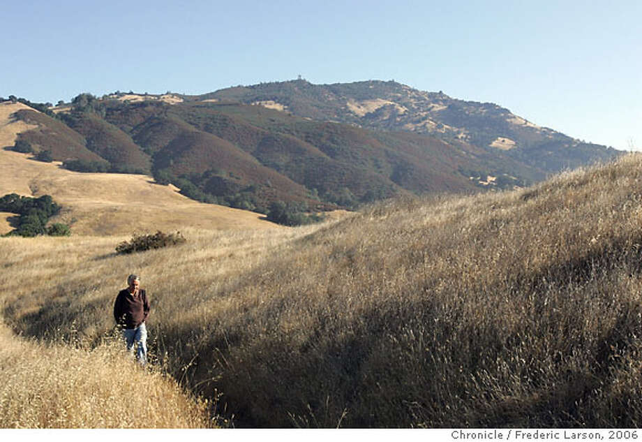 Recently, that was with the publication of a Bay Nature magazine, focused on Mount Diablo, with a pullout by widely praised naturalist David Rains Wallace walking a trail with the mountain in the background. ****David Rains Wallace 8/14/06  {Frederic Larson/The Chronicle} Photo: Frederic Larson