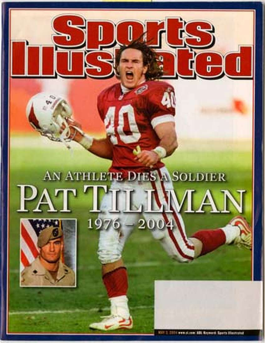 Sports Illustrated cover featuring Pat Tillman on 9/23/05 in . / HO