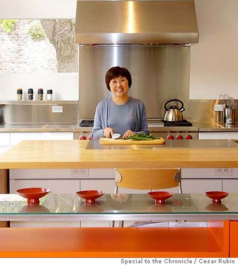Sandy Hu in her kitchen. Credit: Cesar Rubio/Special to The Chronicle Photo: Cesar Rubio/Special To The Chron