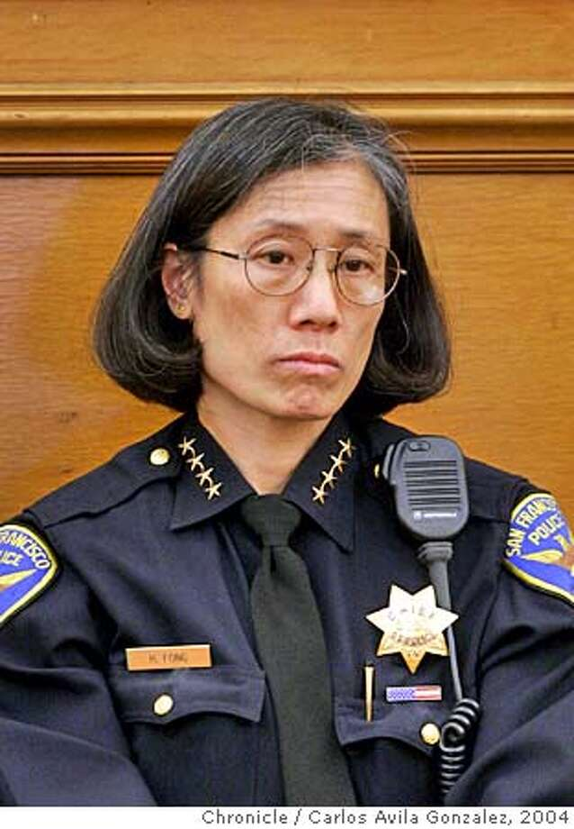 SFPD011_CAG.JPG San Francisco Police Department Chief, Heather Fong. Photo taken on 10/06/04, in San Francisco, Ca. Photo by Carlos Avila Gonzalez/The San Francisco Chronicle Ran on: 07-15-2005  Deputy Chief Greg Suhr Ran on: 07-15-2005  Deputy Chief Greg Suhr MANDATORY CREDIT FOR PHOTOG AND SF CHRONICLE/ -MAGS OUT Photo: Carlos Avila Gonzalez