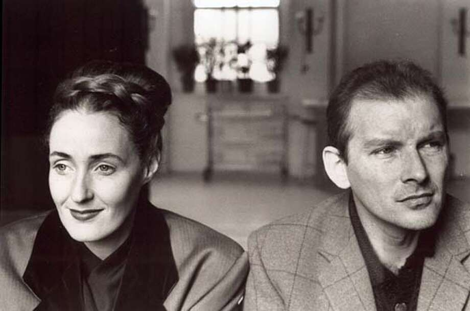 Dead Can Dance. You may not know their music, but you'll never forget the name of the band or the ghoulish images that skittered through your brain the first time you heard those three words. Dead Can Dance is the partnership of Lisa Gerrard and Brendan Perry Photo: Courtesy 4AD