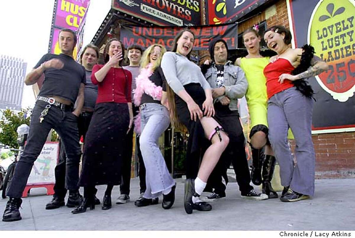 Lusty Lady becomes first worker-owned strip club / From boas and ...