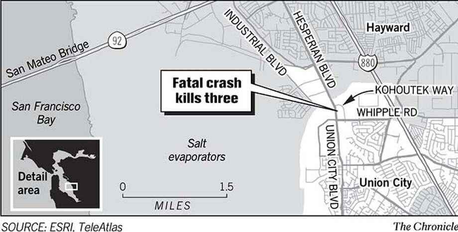 Fatal Crash Kills three