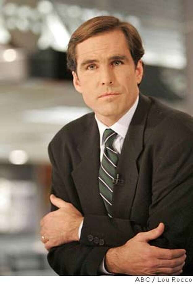 ABC news co-anchor and Rye, N.Y. resident Bob Woodruff was seen having lunch at Le Penguin on Lewis Street in Greenwich on Friday afternoon. Photo: HO