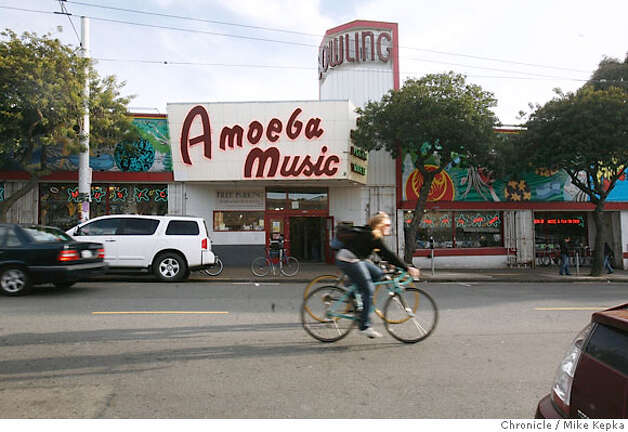 Hall of Fame  Amoeba Music: The 25,000-square-foot Haight Street flagship store of the independent music retailer offers a dizzying selection of music, plus free in-store concerts, knowledgeable staff and generous trade-in credit for old CDs. 1855 Haight St., S.F. (415) 831-1200. Also 2455 Telegraph Ave., Berkeley. (510) 549-1125. www.amoeba.com. Photo: Mike Kepka
