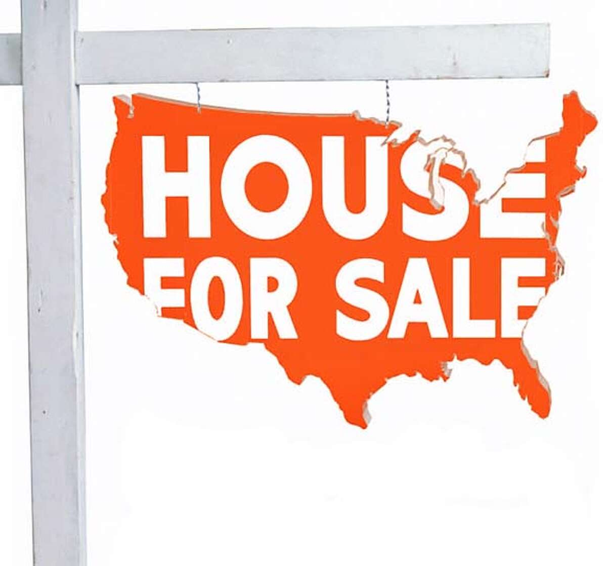 House for Sale. Chronicle Illustration
