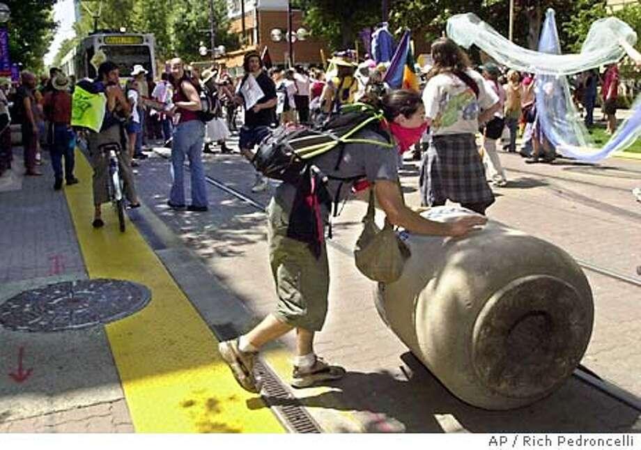 PROTESTERS Photo: RICH PEDRONCELLI