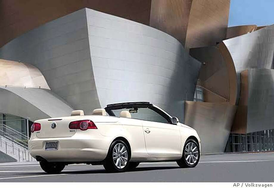 This undated publicity photo provided by Volkswagen shows the 2007 Volkswagen Eos convertible. (AP Photo/Volkswagen) NO SALES Photo: Volkswagen