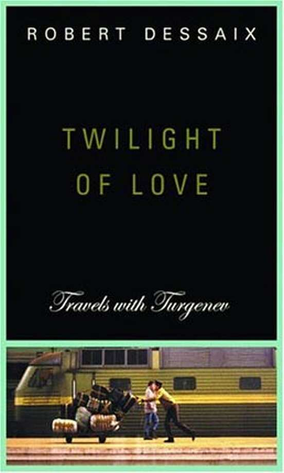 """Book cover art for, """"Twilight of Love: Travels with Turgenev."""" Photo: Daniel Morris"""