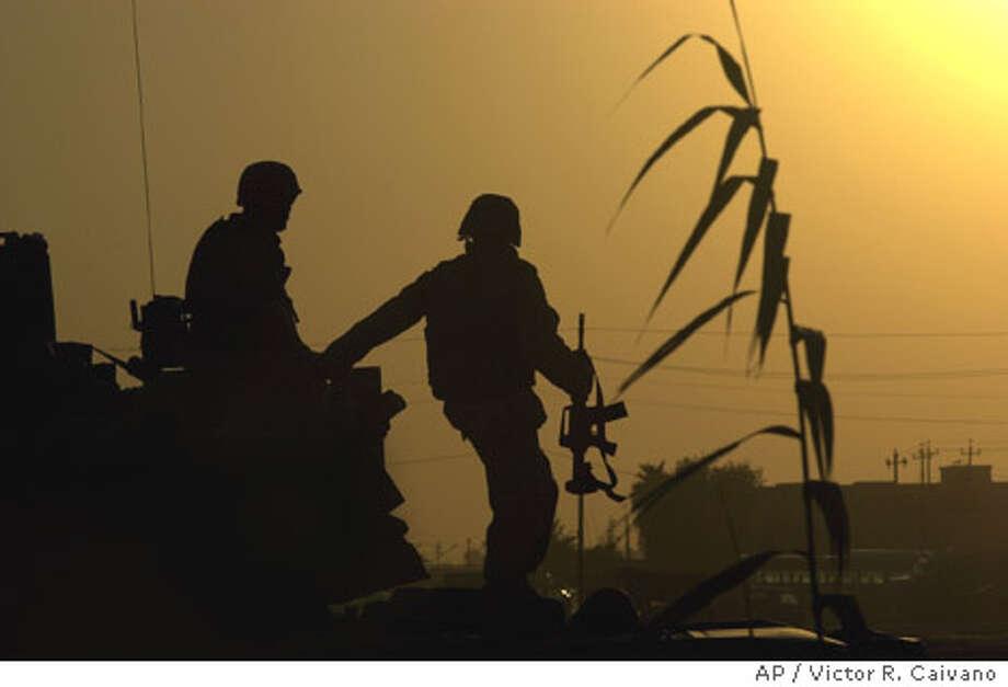 6/21/2003 | B/W | 5star | 22p8x2.325inch | A11 | A-Section | Warren, x6169 | IRAQ Photo: VICTOR R. CAIVANO
