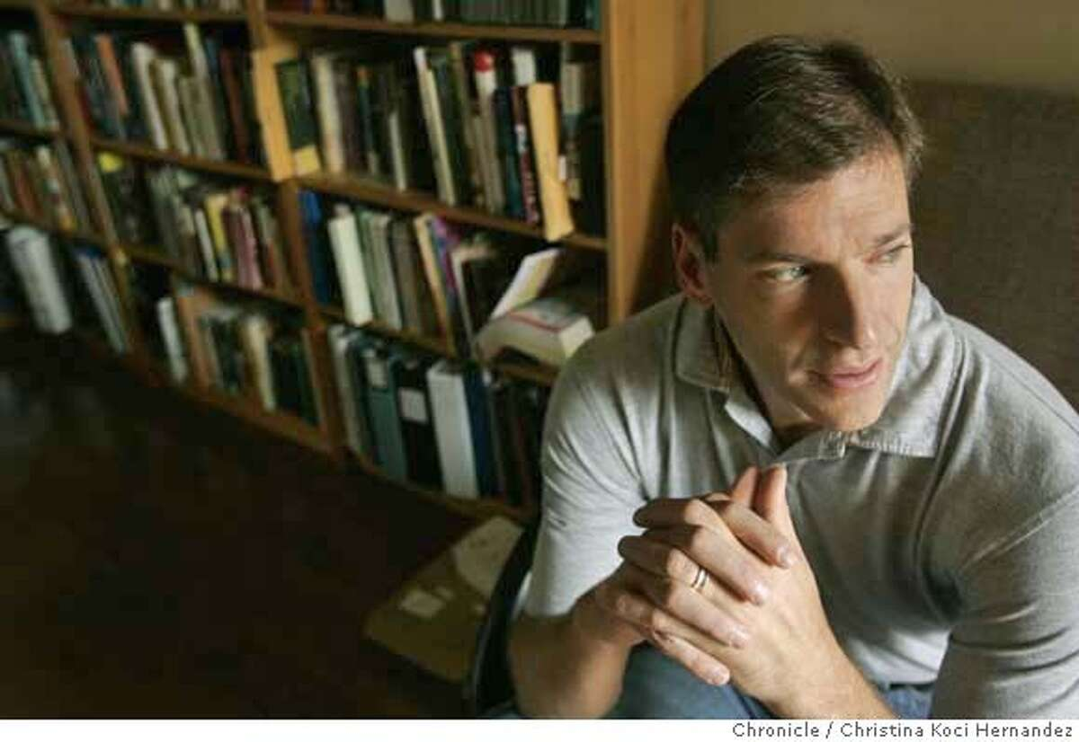 UC Berkeley energy resources professor Dan Kammen is the man in the middle of the controversial research deal between the university and BP. He wrote the portion of the proposal that would guide scientists to be environmentally and socially sensitive as they create new and disruptive biofuels to replace a portion of the world's fossil fuel consumption for transportation.(CHRISTINA KOCI HERNANDEZ/CHRONICLE) CHRONICLE Photos by CHRISTINA KOCI HERNANDEZ