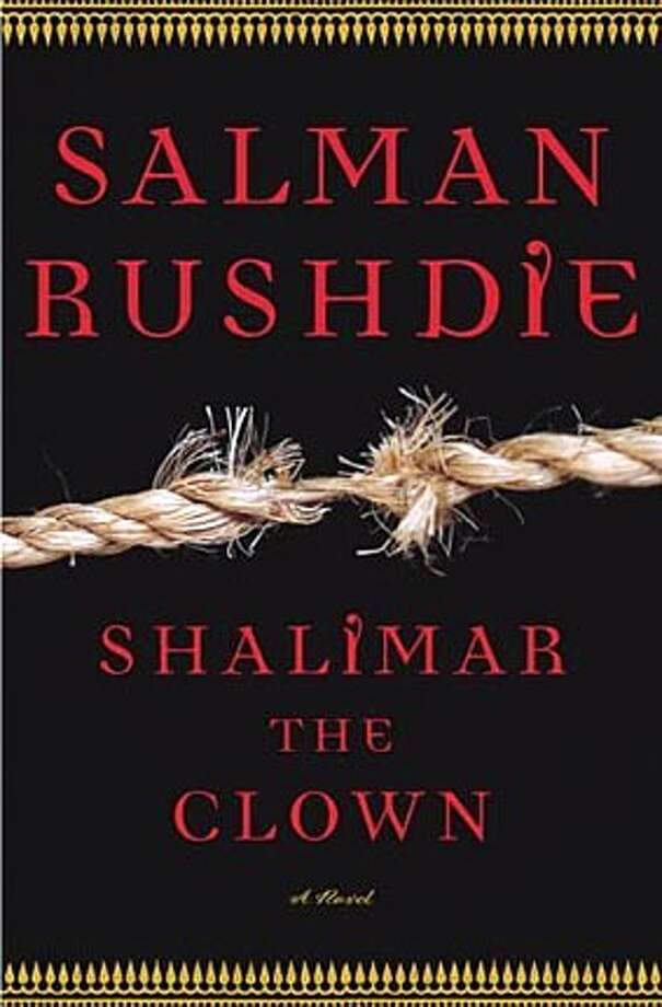 """Book cover art for, """"Shalimar the Clown."""" Photo: No Byline"""