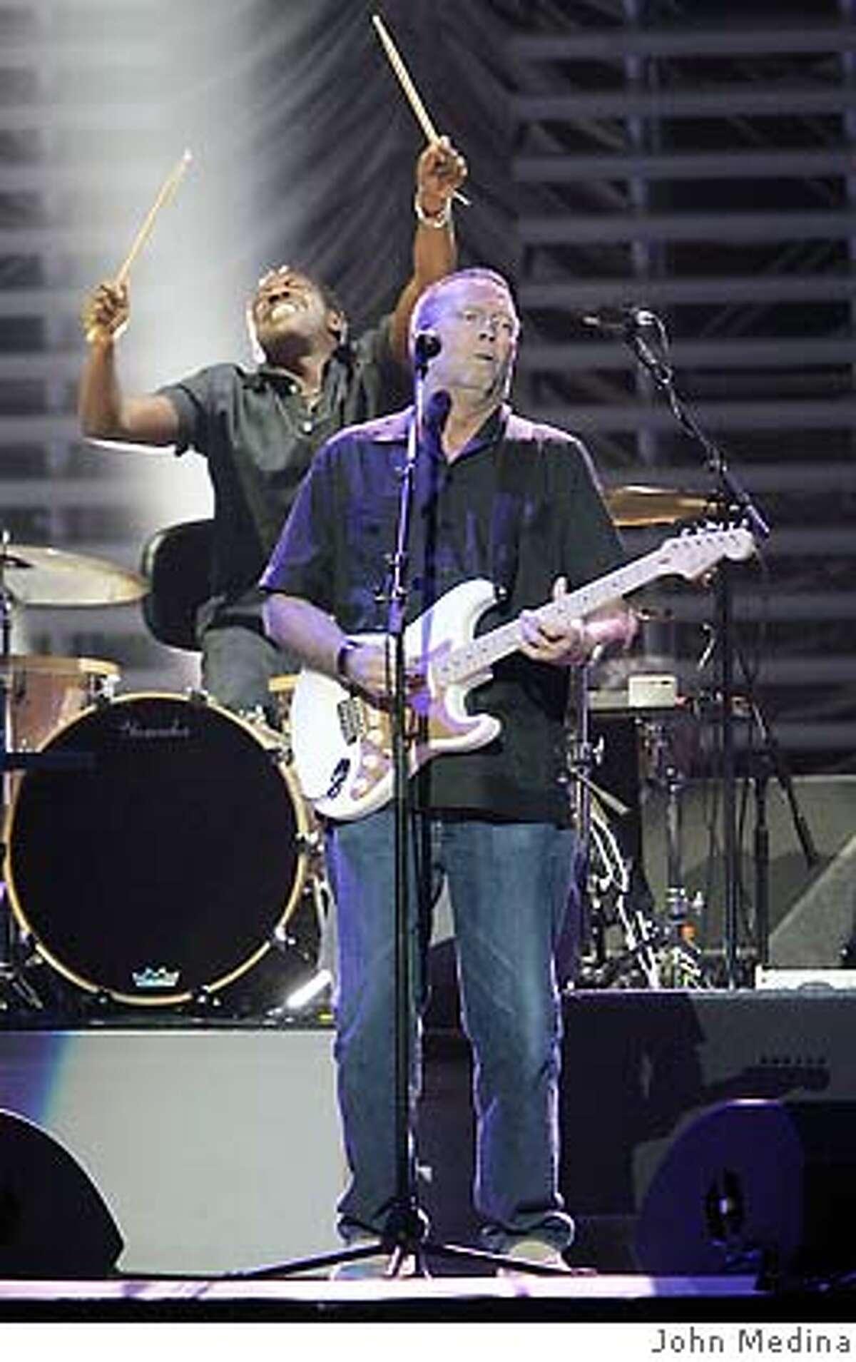 Eric Clapton at HP Pavilion March 18, 2007 photography by John Medina